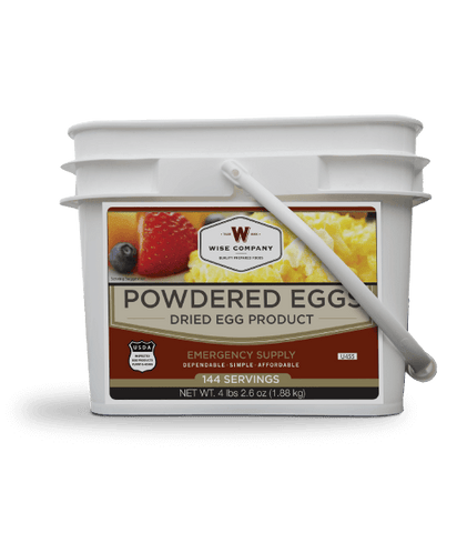 144 Serving Of Powdered Eggs By Wise Company