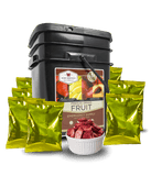 Gluten Free 156 Serving Emergency Fruit Bucket By Wise Company
