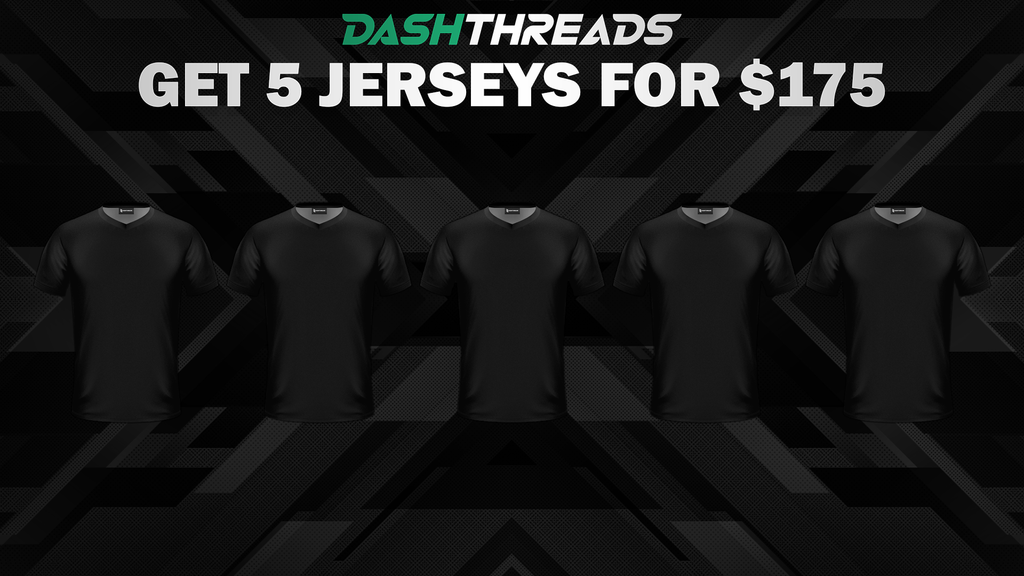 5 Jerseys Bundle