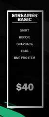 Streamer Basic Package
