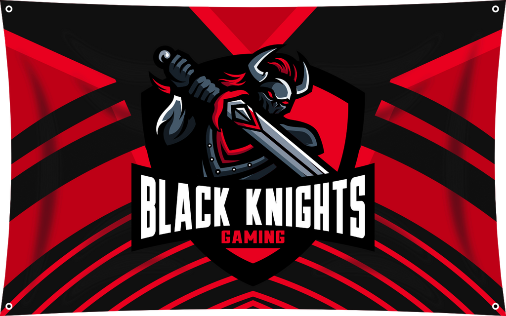 Black Knight Team Banner