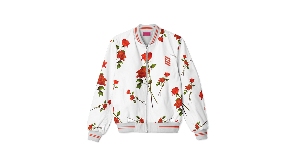 Dash Rose Bomber Jacket