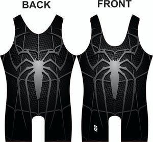 Black Spider Wrestling Singlet