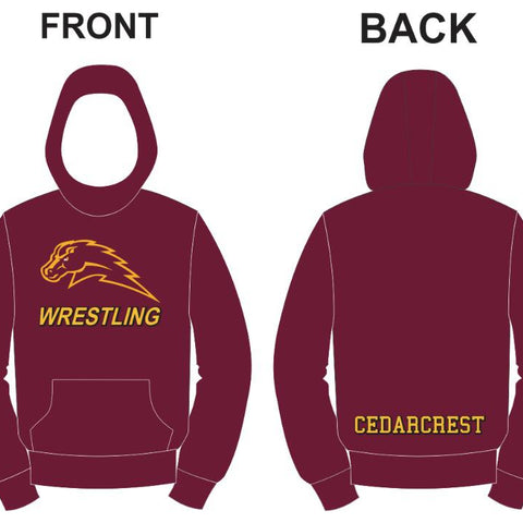 Chargers 2019-2020 Wrestling Hoodie