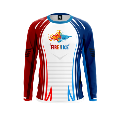 Fire N Ice Long Sleeve Jersey