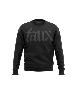 Faux sweatshirt