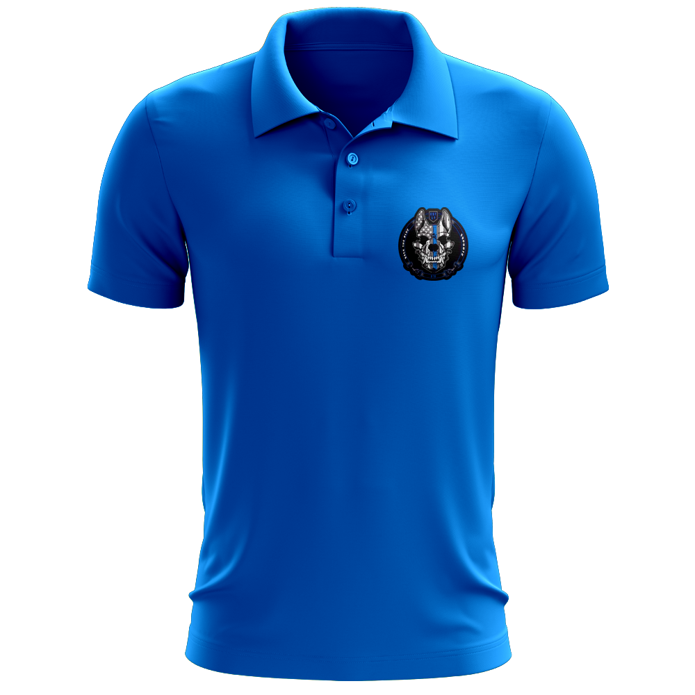 Back The Blue Polo