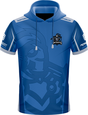 Mortal Blue Hooded Jersey