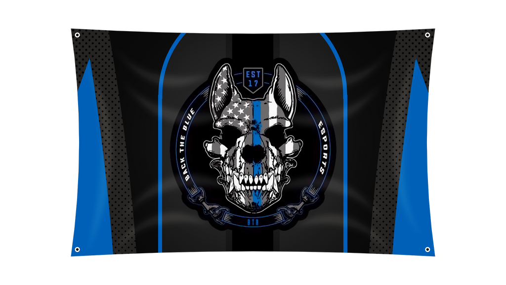 Back The Blue Team Banner