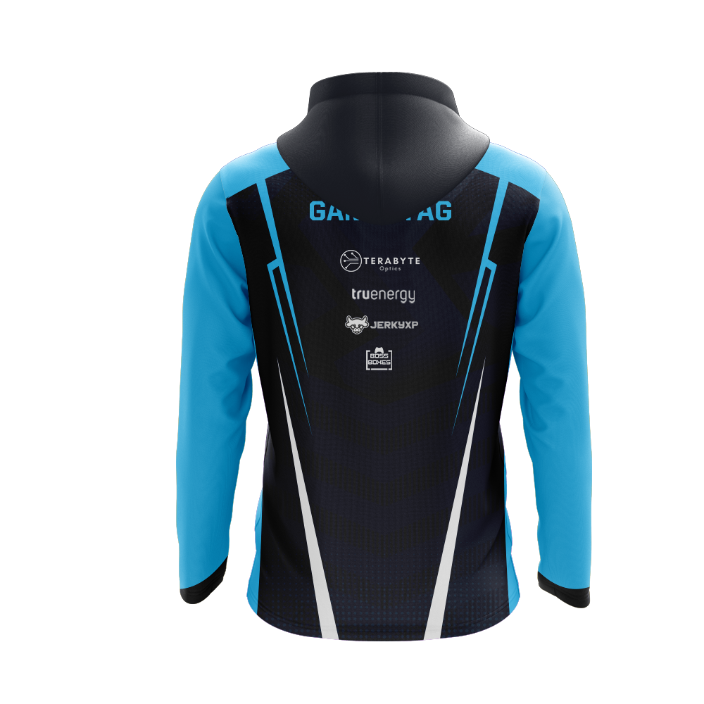 Voltic Black Hooded Jersey Long Sleeve