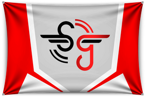 Simbolic White Team Banner