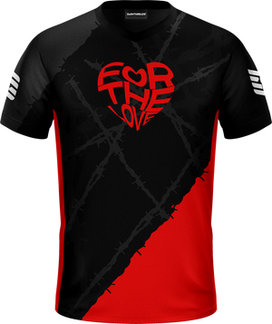 For The Love Black Pro Jersey