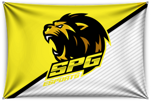 SPG White Team Banner