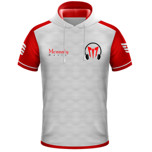 Mcnealy White Hooded Jersey