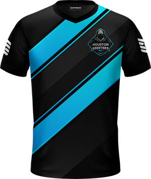 Houston Black Pro Jersey