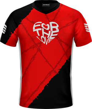 For The Love Red Pro Jersey