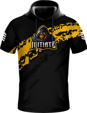 Initiate Black Hooded Jersey