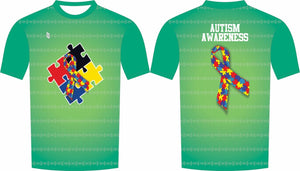Autism Compression Shirt Green