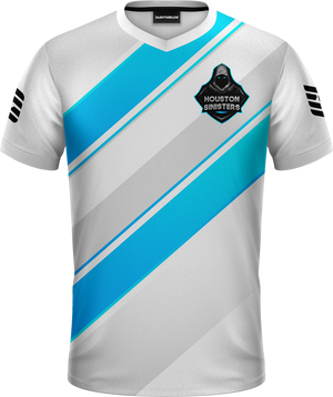 Houston White Pro Jersey