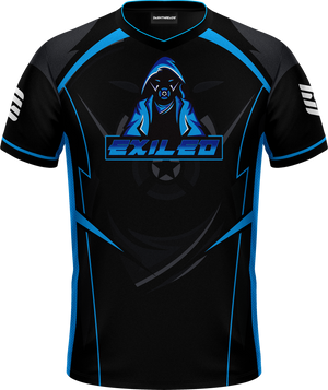 ‪Exiled‬ Black Pro Jersey
