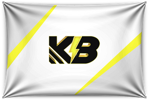 KillaByte White Team Banner