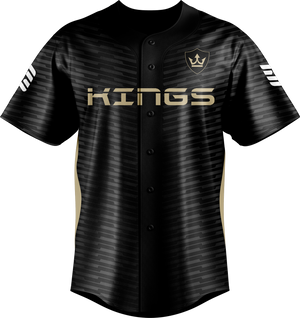 Kings Of Today Black  Baseball Jersey