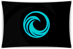 Tidal Black Team Banner