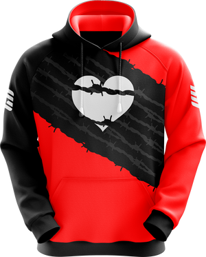 For The Love Black Pro Hoodie