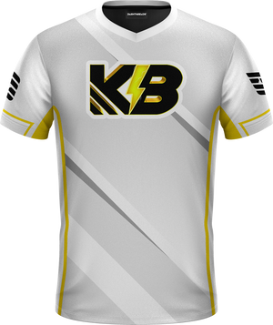 KillaByte White Pro Jersey