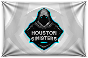 Houston White Team Banner