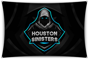 Houston Black Team Banner