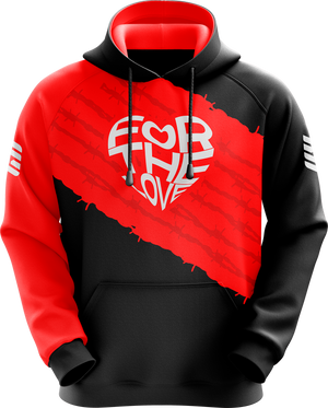 For The Love Red Pro Hoodie