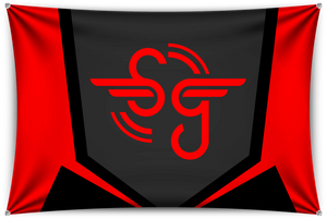 Simbolic Black Team Banner