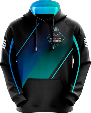 Houston Black Pro Hoodie