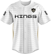 Kings Of Today White Baseball Jersey