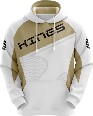 Kings Of Today White Pro Hoodie