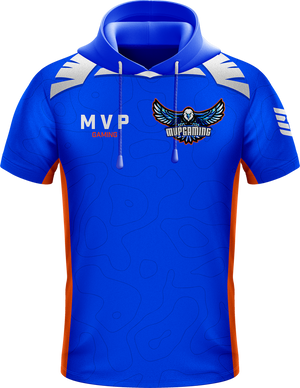MVP Blue Hooded Jersey