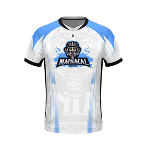 Maniacal White Pro Jersey