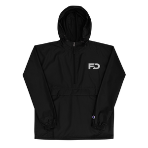 DropZ Embroidered Champion Packable Jacket