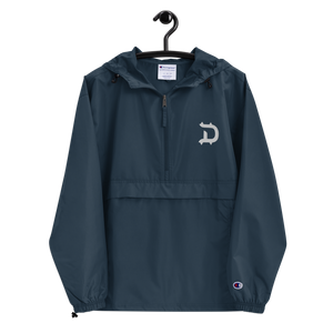 DeNy Embroidered Champion Packable Jacket