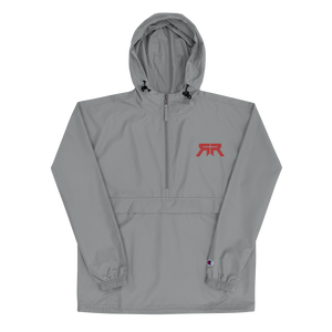 Rated R Embroidered Champion Packable Jacket