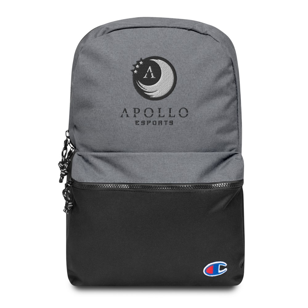 Apollo Embroidered Champion Backpack