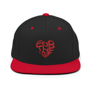 For The Love Snapback