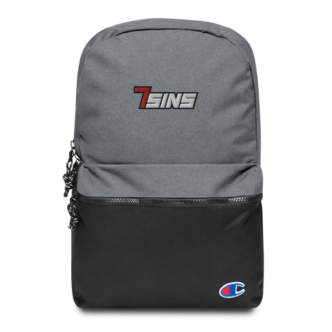 7sins Embroidered Champion Backpack