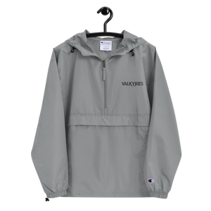 Valkyries Logo Embroidered Champion Packable Jacket