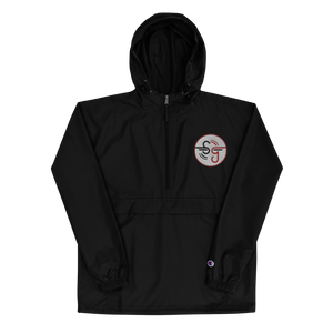 Simbolic Embroidered Champion Packable Jacket