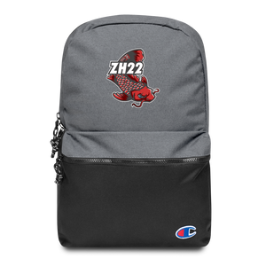 Zh22 Embroidered Champion Backpack