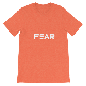 Fear Text T-Shirt