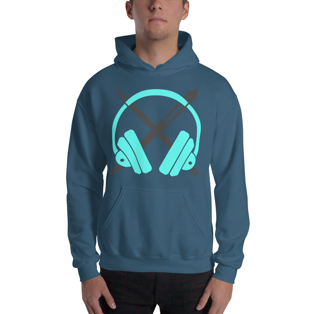Curly Hooded Sweatshirt
