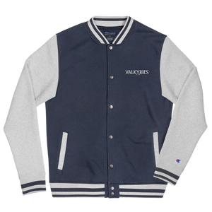Valkyries Logo Embroidered Champion Bomber Jacket
